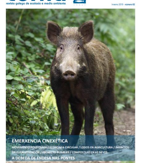 Revista Cerna de medio ambiente e ecoloxía de Galiza
