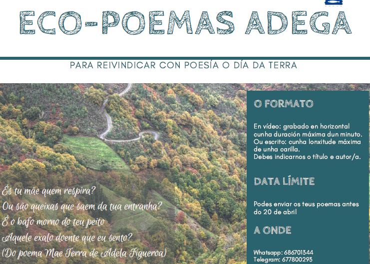 Eco-poemas para o Día da Terra