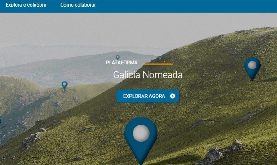 Galiza nomeada. Plataforma colaborativa